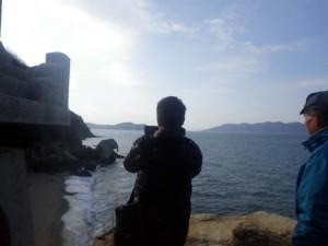 六口島の象岩