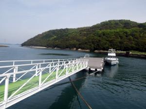 手島の桟橋
