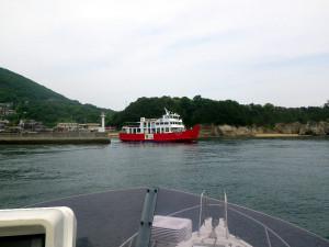 男木島港とめおん