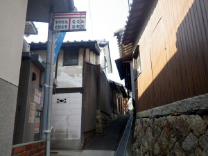 男木島の美術館への道順