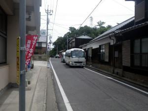 直島本村のシャトルバス停