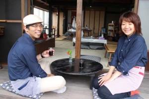 シェフ前田さんと奥様