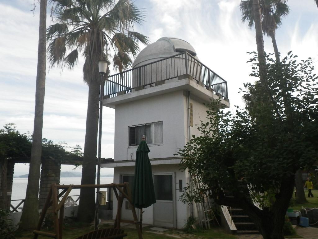 島宿三虎の天文台