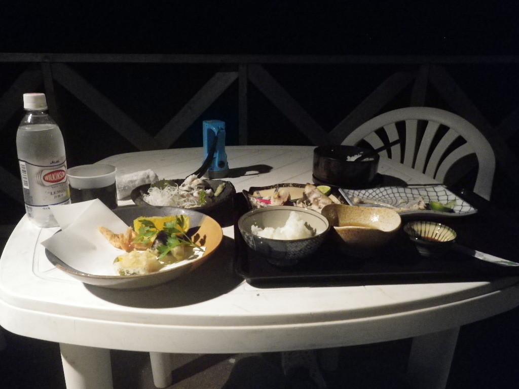 島宿三虎の夕食