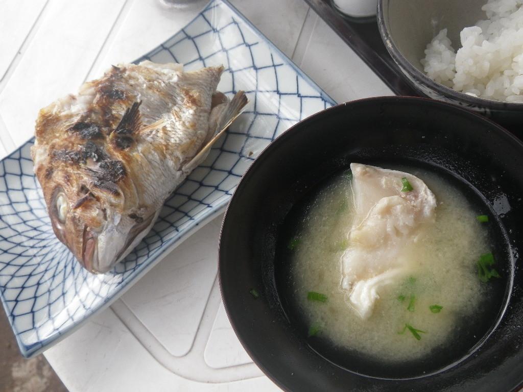 島宿三虎の朝食